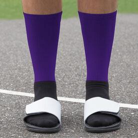 Volleyball Printed Mid-Calf Socks - Team Colors
