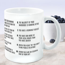 Running Coffee Mug - You Know You're A Runner When (Bold)