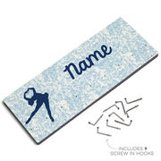 Figure Skating Hooked on Medals Hanger - Personalized Figure Skater