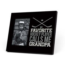 Hockey Photo Frame - Grandpa
