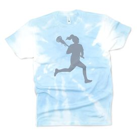 Girls Lacrosse Short Sleeve T-Shirt - Player Tie-Dye