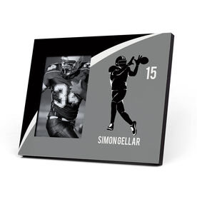 Football Photo Frame - Personalized Wide Receiver