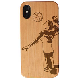 Volleyball Engraved Wood IPhone® Case - Player