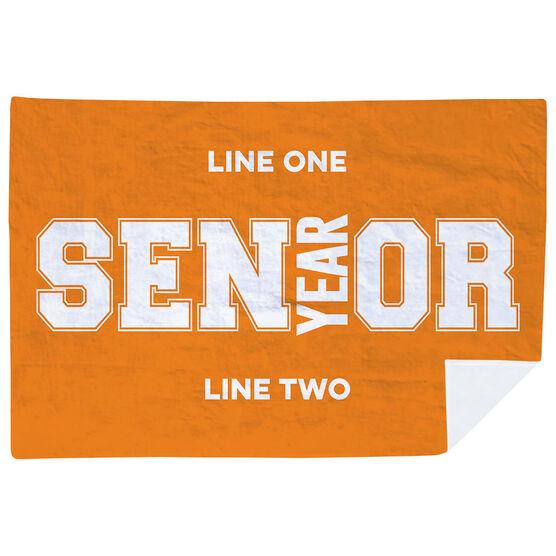 Personalized Premium Blanket - Senior Graduation Gift