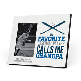 Baseball Photo Frame - Grandpa
