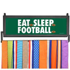 AthletesWALL Medal Display - Eat Sleep Football
