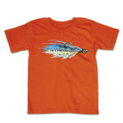 Fly Fishing Toddler Short Sleeve Tee - Clouser Fly
