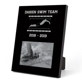 Swimming Photo Frame - Male Swimmer