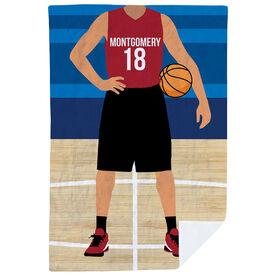 Basketball Premium Blanket - Basketball Player