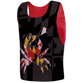 Guys Lacrosse Pinnie - Maryland Crab