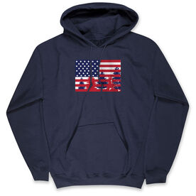 Guys Lacrosse Standard Sweatshirt - Star Spangled Laxer