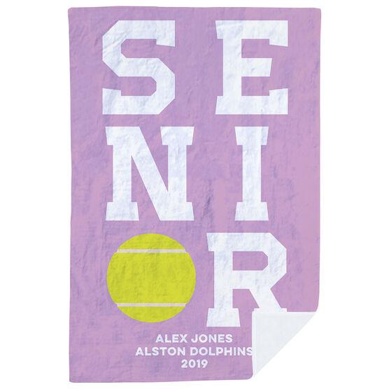 Tennis Premium Blanket - Personalized Senior