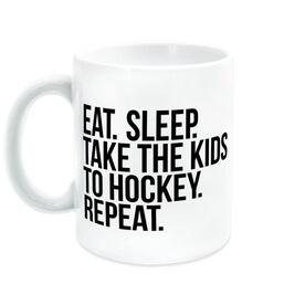 Hockey Coffee Mug - Eat Sleep Take The Kids To Hockey