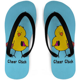 Cheerleading Flip Flops Chick