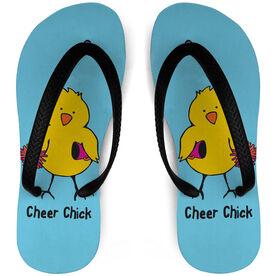 Cheerleading Flip Flops Chick