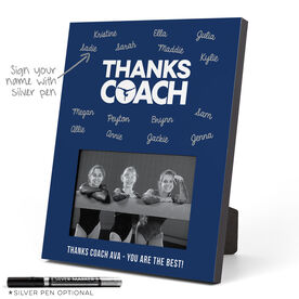Gymnastics Photo Frame - Coach (Autograph)