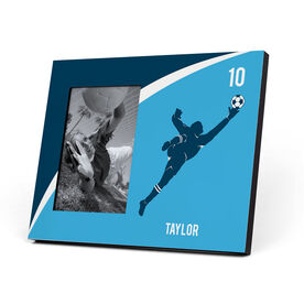 Soccer Photo Frame - Personalized Soccer Goalie