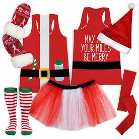 Santa Runner Running Outfit