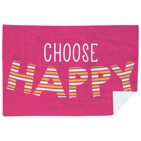 Premium Blanket - Choose Happy