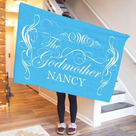 Personalized Premium Blanket - The Godmother