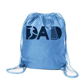 Soccer Sport Pack Cinch Sack - Soccer Dad Silhouette