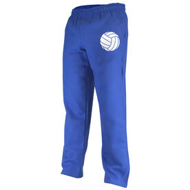 Volleyball Fleece Sweatpants Volleyball Icon