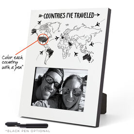 Photo Frame - Countries I've Traveled