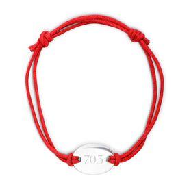 Sterling Silver Cord Bracelet 70.3