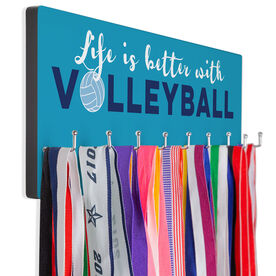 Volleyball Hook Board Life is Better with Volleyball