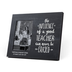 Personalized Teacher Photo Frame - Never Be Erased