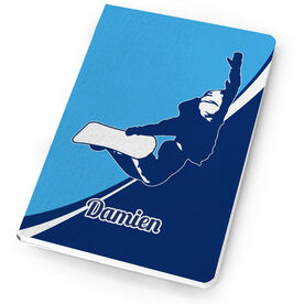 Snowboarding Notebook Personalized Snowboard Silhouette