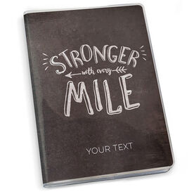 GoneForaRun Running Journal Stronger With Every Mile