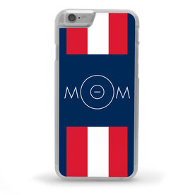 Wrestling iPhone® Case - Mom With Mat Circle [Red/iPhone 6 or 6S] - SS