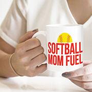 Softball Coffee Mug - Softball Mom Fuel