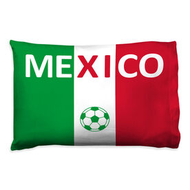 Soccer Pillowcase - Mexico