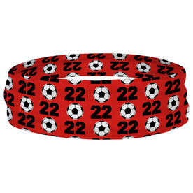 Soccer Multifunctional Headwear - Custom Team Number Repeat RokBAND