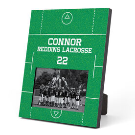Guys Lacrosse Photo Frame - Field
