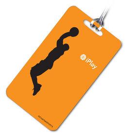 Basketball Bag/Luggage Tag iPlay Basketball