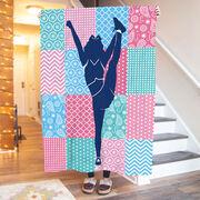 Cheerleading Premium Blanket - Cheer Girl Quilt