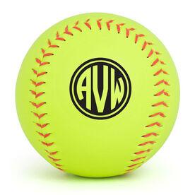 Personalized Softball - Monogram
