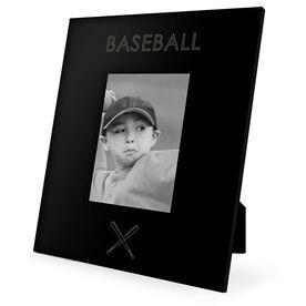Baseball Engraved Picture Frame - Simple Baseball