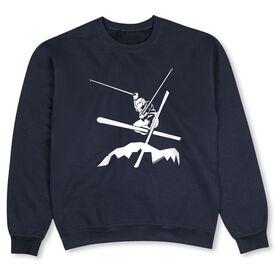Skiing Crew Neck Sweatshirt - Airborne Skiing
