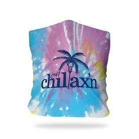 Girls Lacrosse Multifunctional Headwear - Just Chillax'n Tie-Dye RokBAND