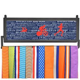 TriathletesWALL Tri Inspiration Male Medal Display