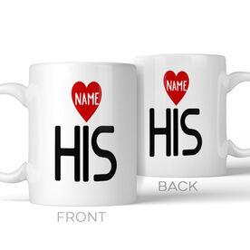 His Personalized Coffee Mug