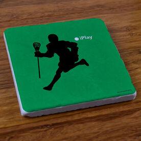 iPlay Lacrosse (Male) - Stone Coaster