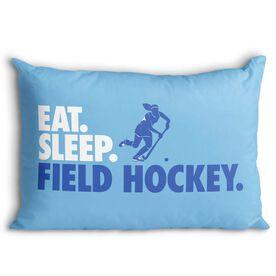 Field Hockey Pillowcase - Eat Sleep Field Hockey