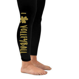 Volleyball Leggings I Shamrock Volleyball