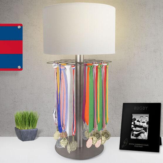 Rugby Tabletop Medal Display Lamp