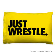 Wrestling Pillowcase - Just Wrestle